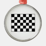 Auto Racing Chequered  Checkered Flag Ornaments