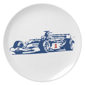 Auto Racing Cool Design Dinner Plate