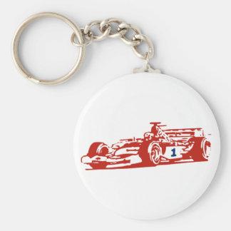 Auto Racing Cool Design Keychain