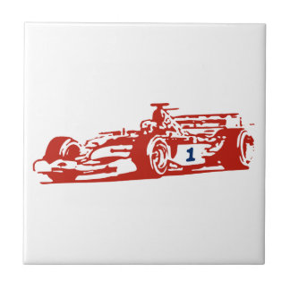 Auto Racing Cool Design Tile