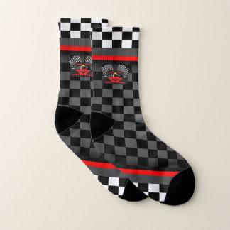 Auto Racing Design Socks
