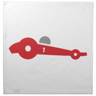 Auto Racing  illustration printed on t-shirts Napkin