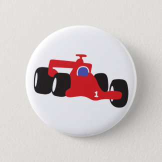 Auto Racing  illustration printed on t-shirts Pinback Button
