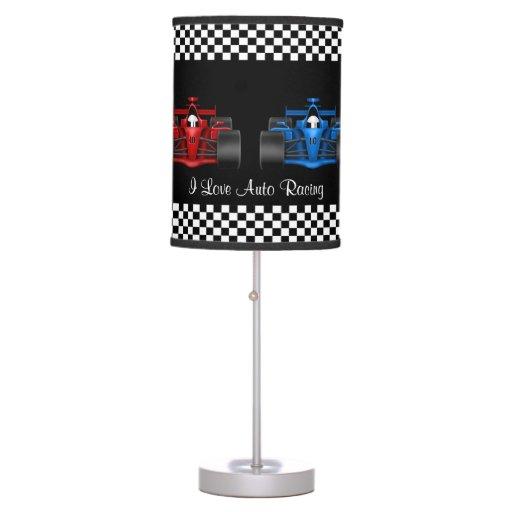 Auto Racing Table Lamp