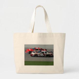 Auto Racing Large Tote Bag