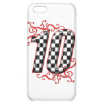 auto racing number 10 iPhone 5C cover