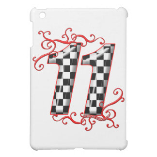 auto racing number 11 cover for the iPad mini