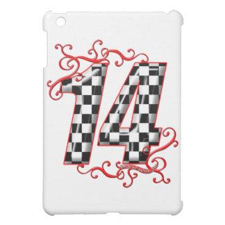 auto racing number 14 iPad mini cases