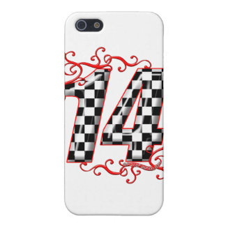 auto racing number 14 iPhone SE/5/5s cover
