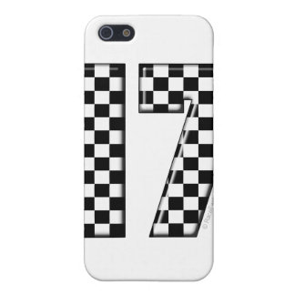 auto racing number 17 cover for iPhone SE/5/5s