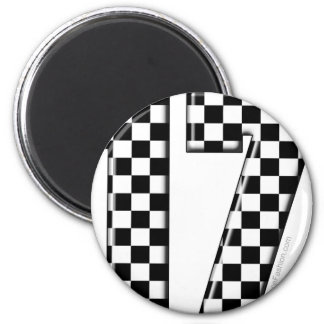 auto racing number 17 magnet