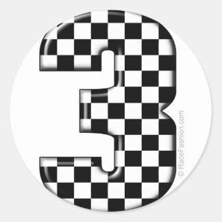 Checkered Flag Stickers Zazzle