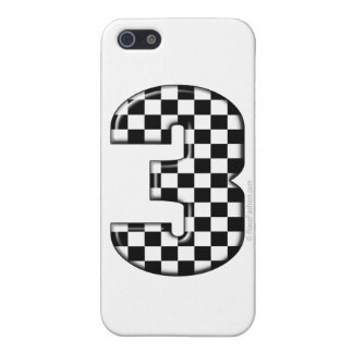 auto racing number 3 cover for iPhone SE/5/5s