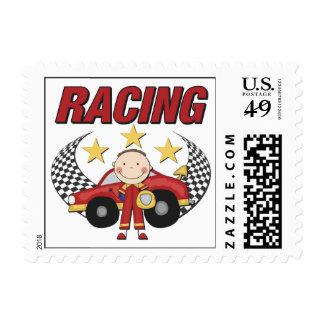 Auto Racing Postage