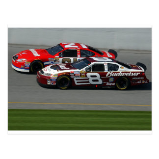 Auto Racing Postcard