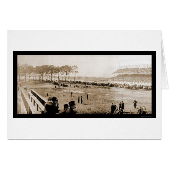 Auto Racing Sheepshead Photo 1915 Card