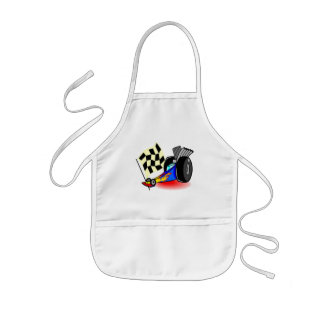 Auto Racing T Shirts and Gifts Kids' Apron