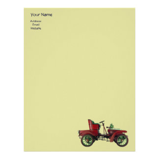 AUTO REPAIR- AUTOMOTIVE LETTERHEAD