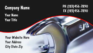 auto repair business card magnet - Auto Repair Business Cards