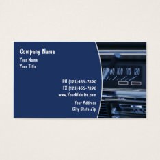 Auto Repair Business Cards at Zazzle