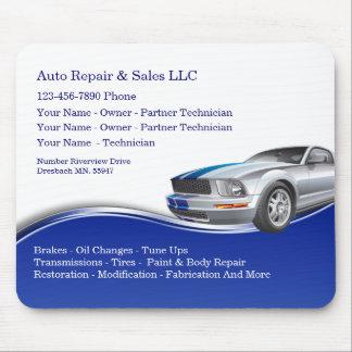 Auto Repair Service Design Mouse Pad