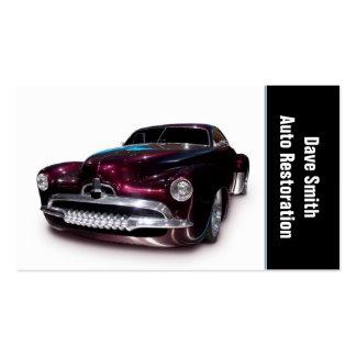Auto Restoration Business Card