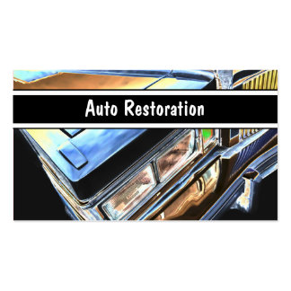 Auto Restoration Business Cards