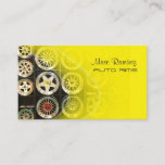 AUTO RIMS, PHOTO business cards