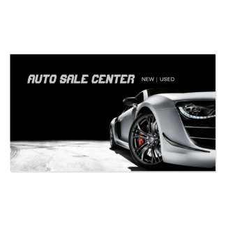 Auto Sale Car Dealership Business Card Standard Business Cards