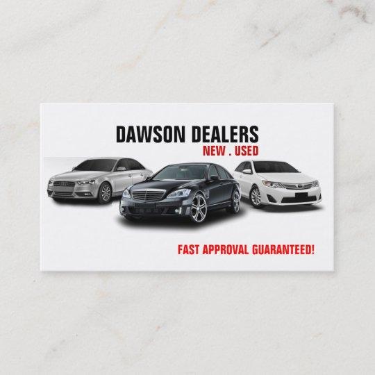 auto sale dealership cars business card zazzle com