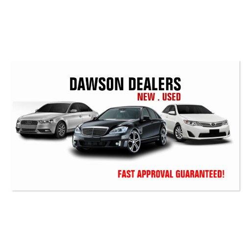 Auto sale dealership cars business card zazzle for Car sales business cards