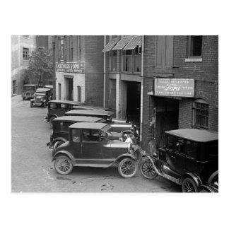 Auto Sales and Service, 1926 Postcard