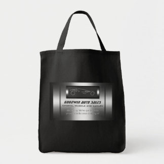 Auto Sales giveaway - faux metal, silver auto Tote Bag
