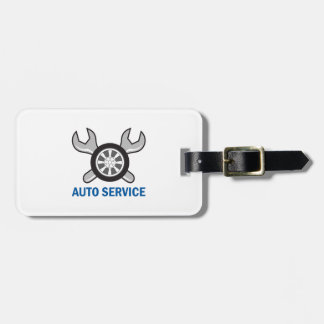 AUTO SERVICE TAGS FOR LUGGAGE