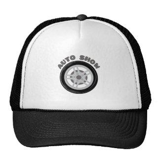 Auto Show Mesh Hat