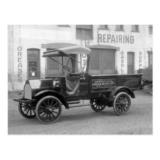 Auto Supply Delivery Truck, 1915 Postcard