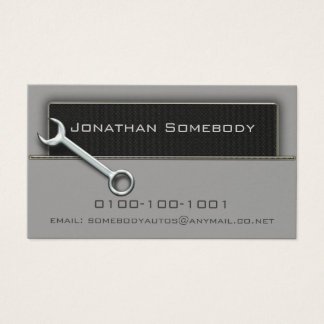 Auto Trade Business Card Template 2