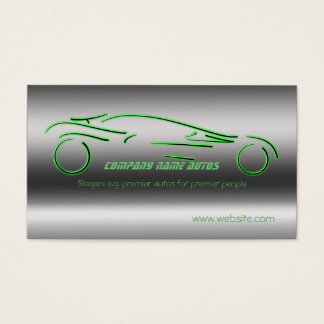 Motor Cars Business Cards Templates