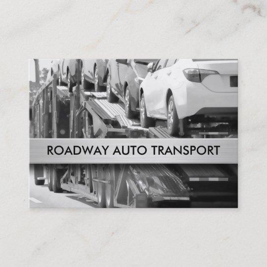 Auto Transport Business Cards Zazzle