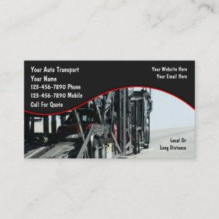 Transportation business cards templates zazzle auto transport business cards colourmoves