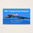 Auto Transporter Car Hauling Logistics Business Card