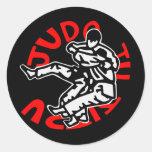 autoadhesivo judo ji jitsu