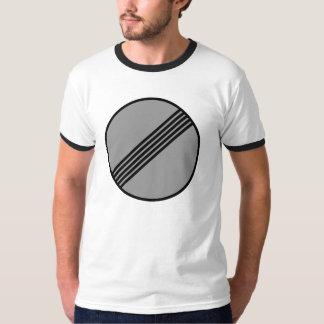 Autobahn ninguna camiseta del límite de velocidad