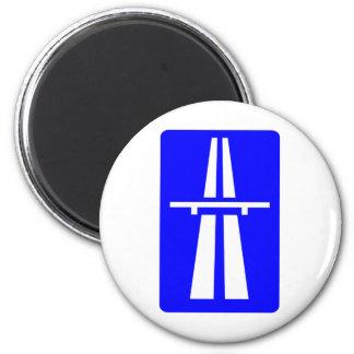 Autobahn Sign Magnet