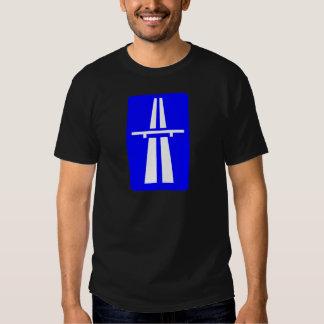 Autobahn Sign T-shirts