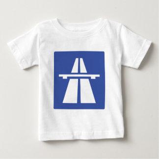 Autobahnschild Baby T-Shirt