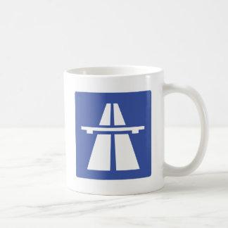 Autobahnschild Coffee Mug