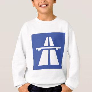 Autobahnschild Sweatshirt