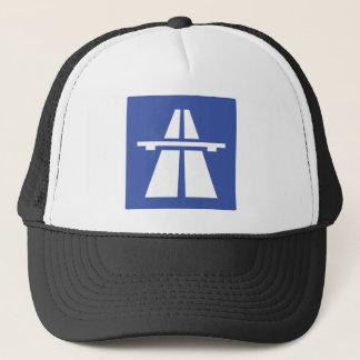Autobahnschild Trucker Hat