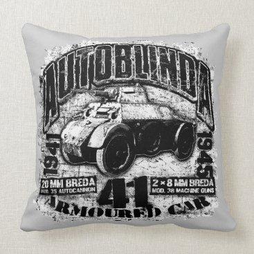 """Autoblinda 41 Throw Pillow 20"""" x 20"""" Throw Pillow"""
